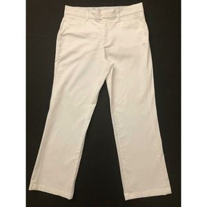 JM Collection Pants Straight White 8S